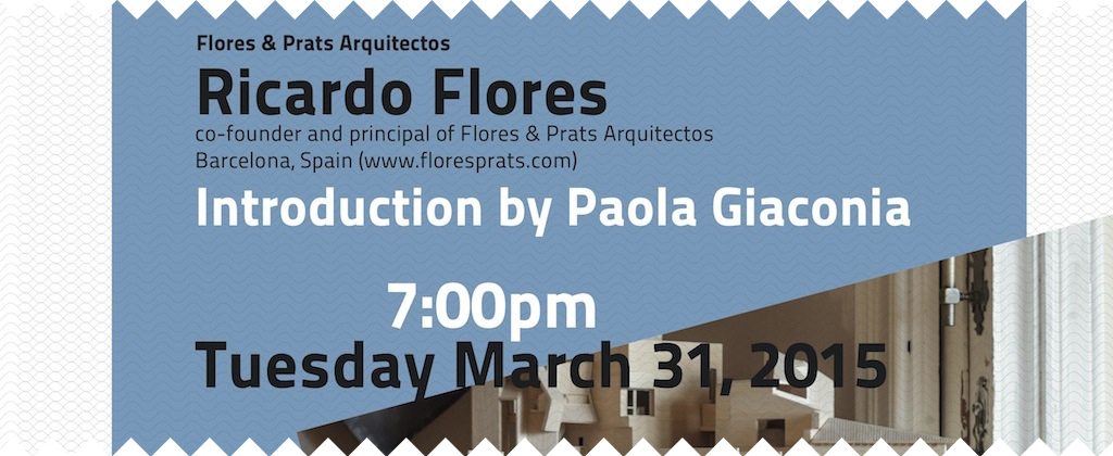 Spring 2015, lecture by Ricardo Flores.