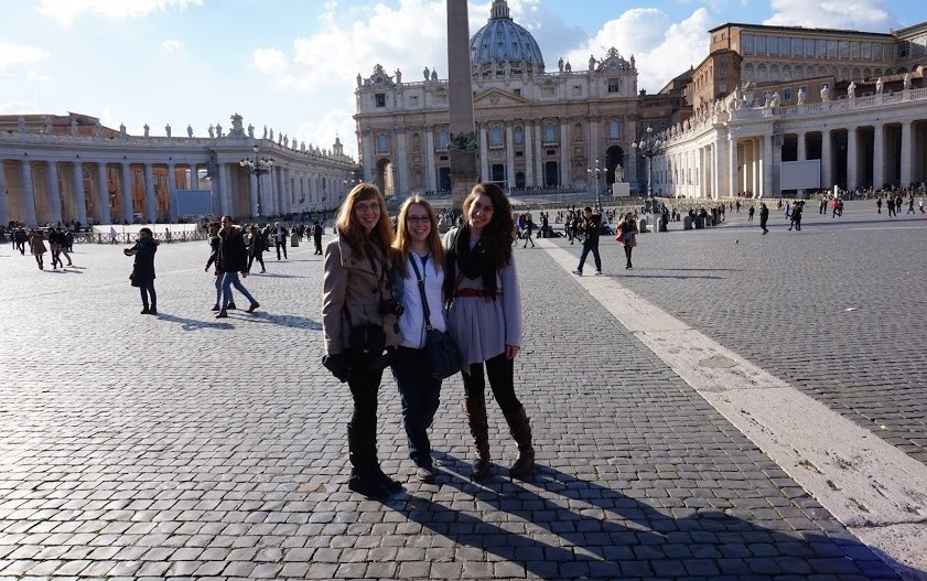 Spring 2015, Study Tours field trip to Rome.