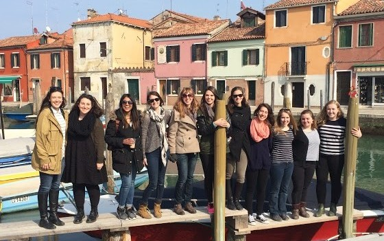 Spring 2015, Study Tours field trip to Venice.