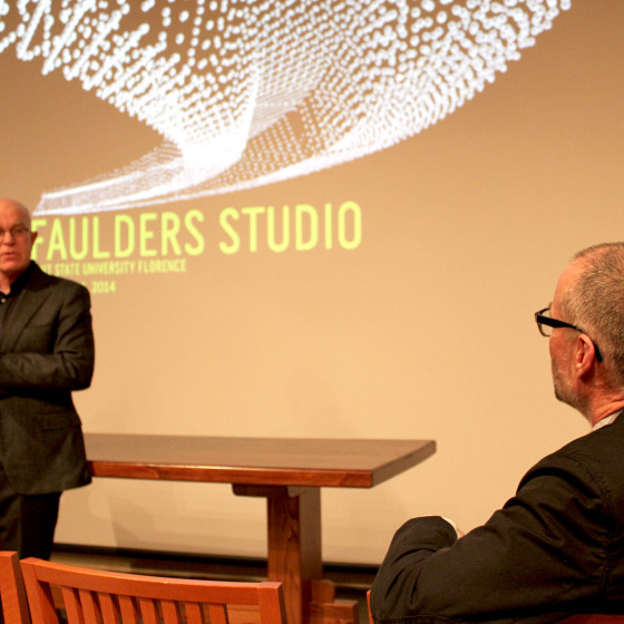 Spring 2014, lecture by Thom Faulders.