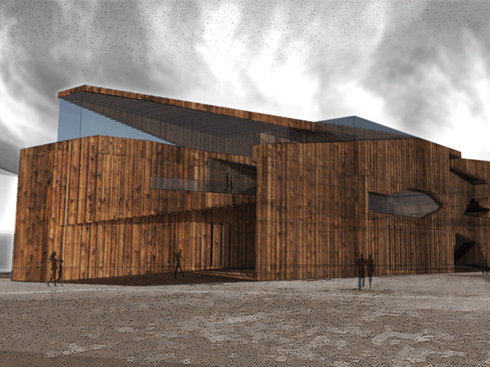 Spring 2013 Most Inspiring Students' Projects competition. Student: Kyle Delker (Architecture).