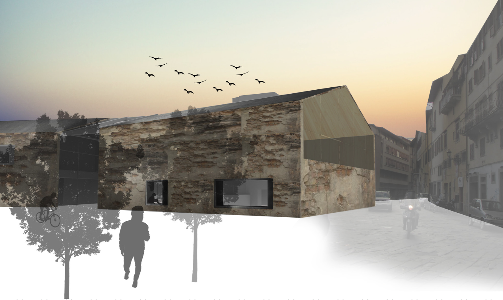 Spring 2015 Most Inspiring Students' Projects competition. Student: Cayla Walter (Architecture).