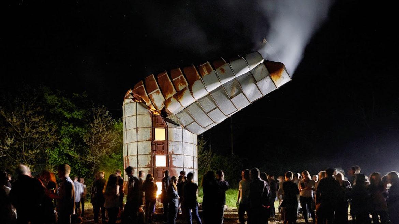"Fall 2015, ""Rural Studio at Twenty"" book presentation (photo: Timothy Hursley)."