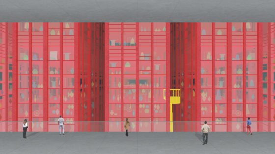 Savage Architecture exhibition and symposium.