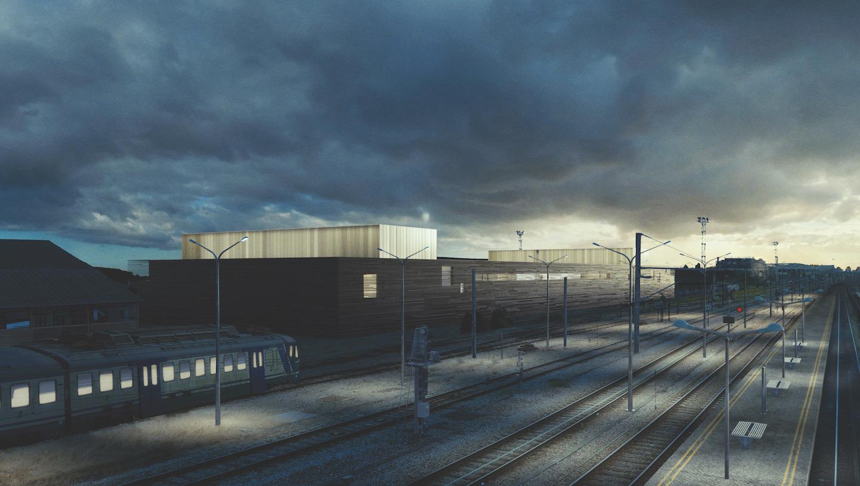 SCAPE – Railway Singalling Center for the RER E and Paris Est area – image Marco Tripodi