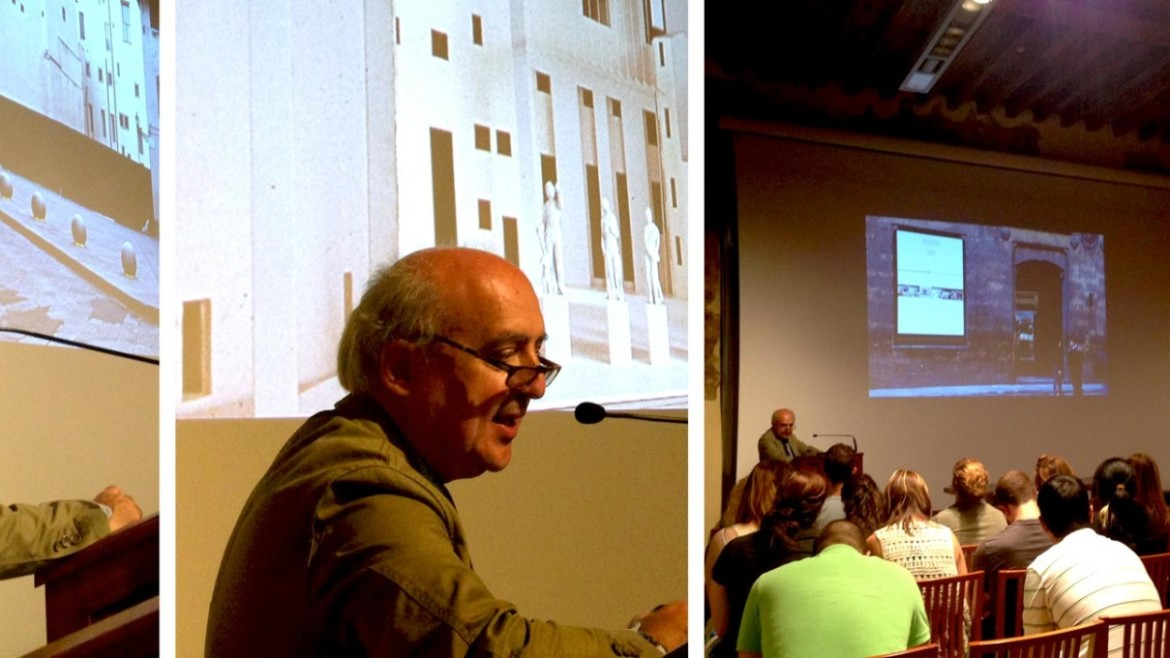 Fall 2014, lecture by Antonio Godoli.