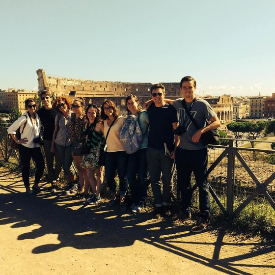 Fall 2014, Reading Cities field trip to Rome.