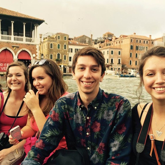 Fall 2014, Reading Cities field trip to Venice.