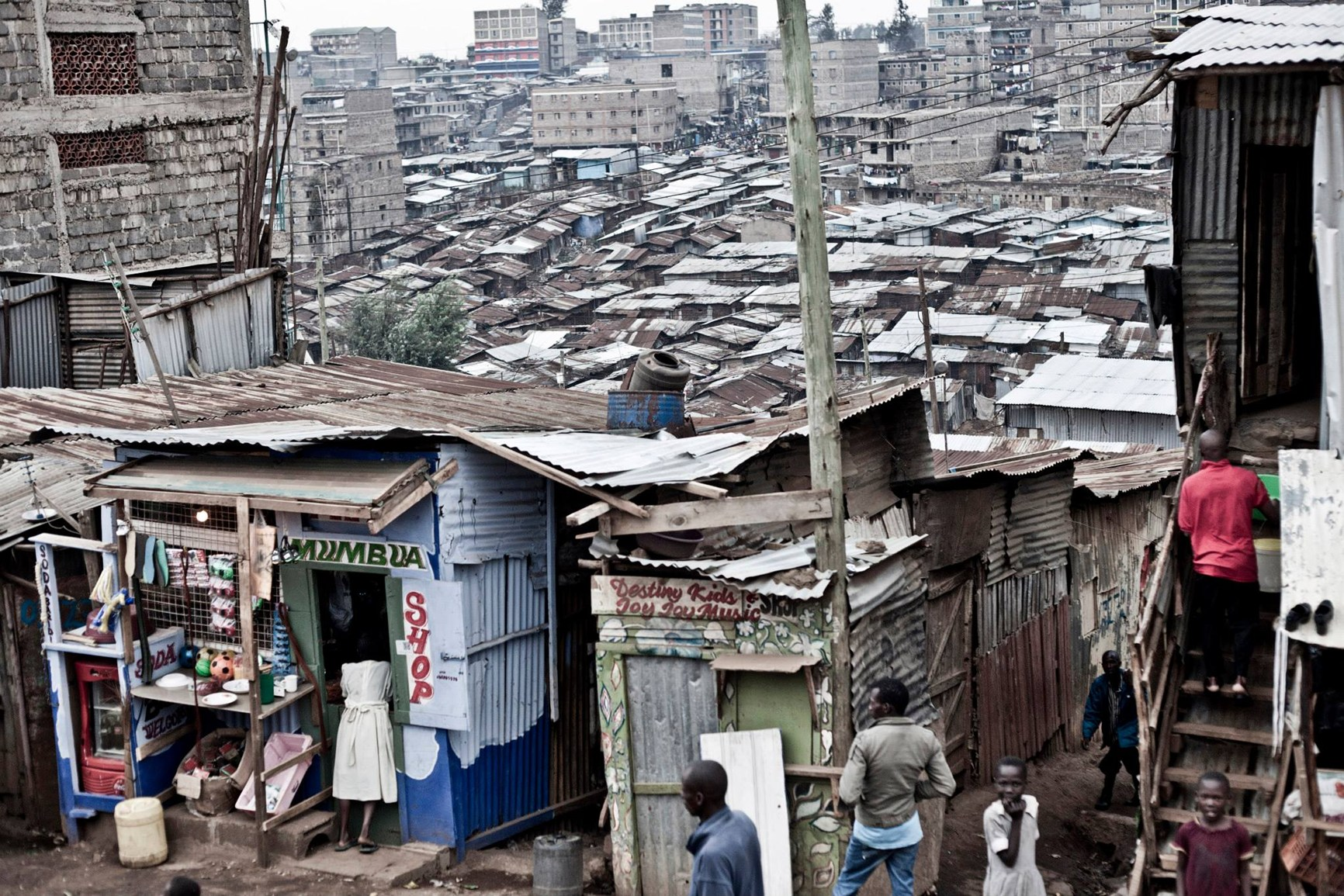 Mathare Slum in Nairobi (photo: Filippo Romano).