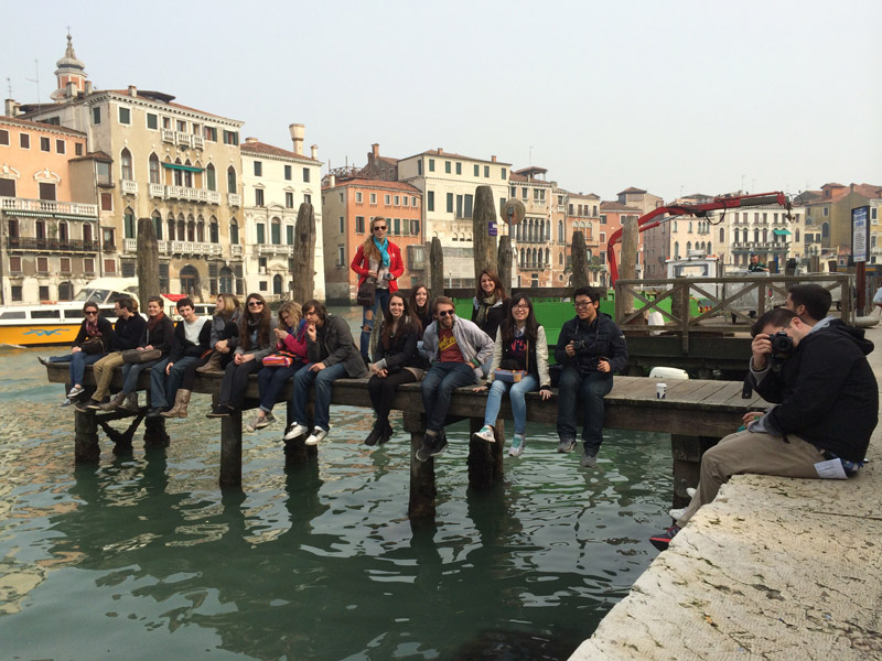 Spring 2014, Reading Cities field trip to Venice.
