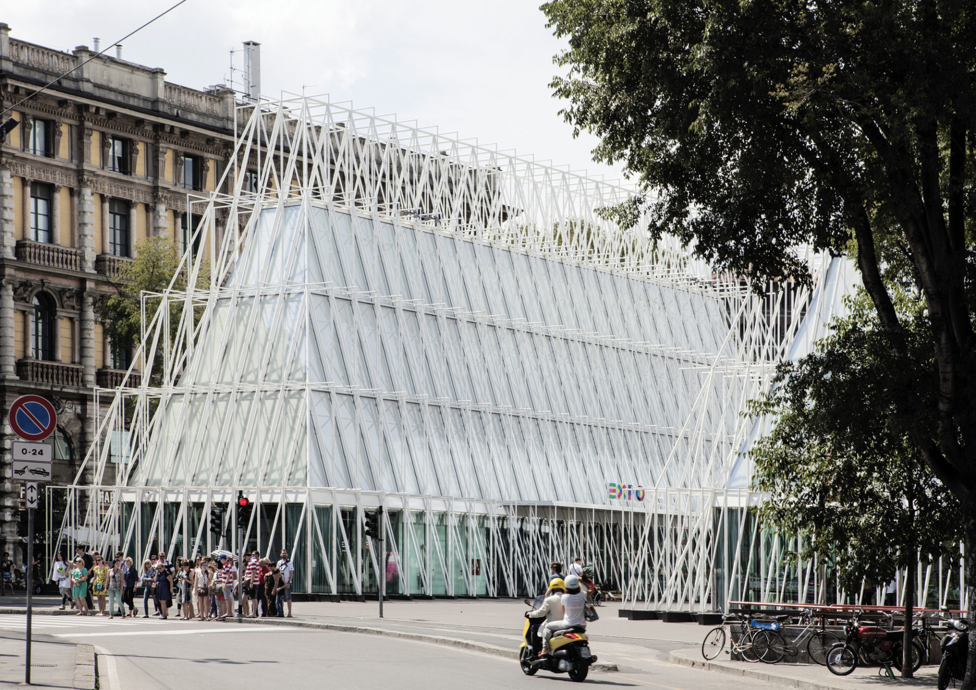 Expo Gate in Milan, Italy by Scandurra Studio (photo: Filippo Romano).