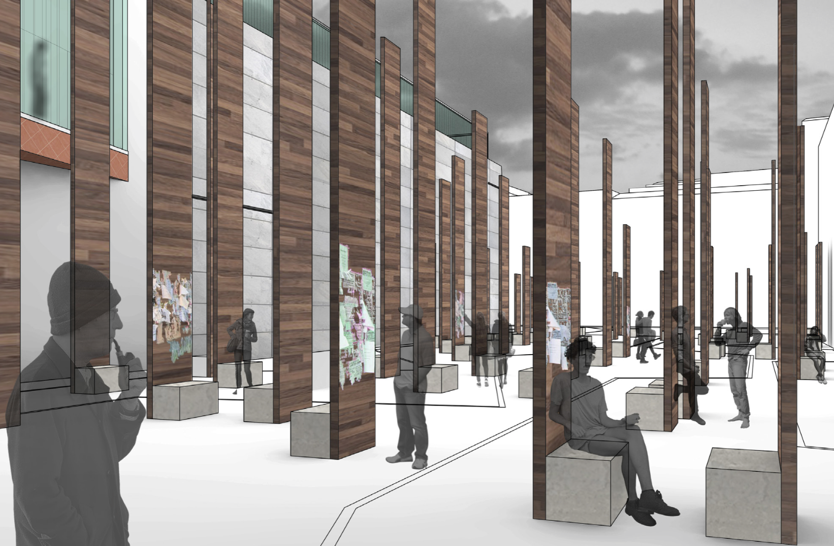Spring 2015 Most Inspiring Students' Projects competition. Student: Alex Petruso (Architecture).