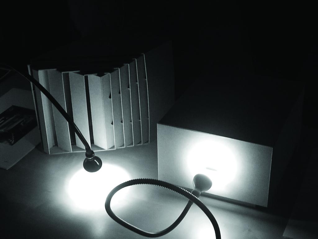 Fall 2014, A Lightbox for Art workshop.