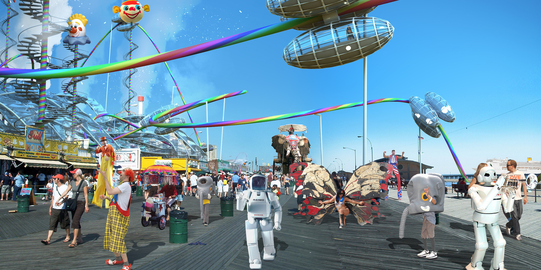 Squint/Opera - Coney Island Broadwalk