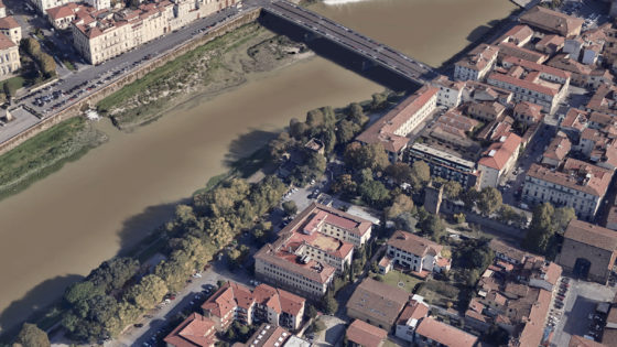 Fall 2018, BETWEEN TOWER AND RIVER workshop with Università di Firenze.